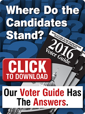 Where Do the Candidates Stand? Our Voter Guide Has The Answers. CLICK To Download.
