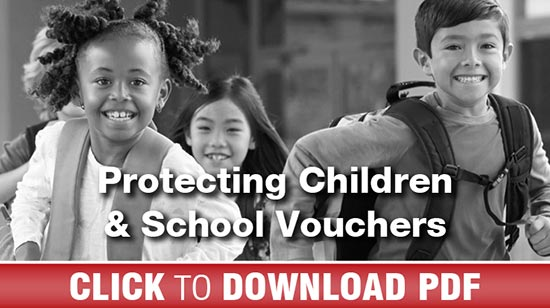 Protecting Children and School Vouchers - PDF