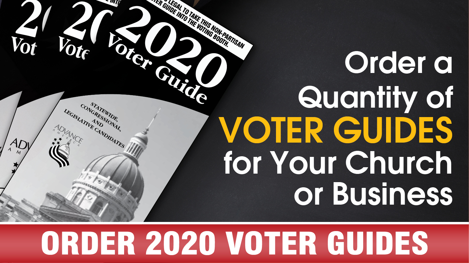 Order 2020 Voter Guides
